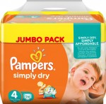 Pampers Sleep and Play (Simply Dry) Gr. 4 (7-18 kg), 2x37 Stk.