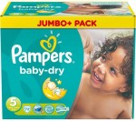 Pampers Baby Dry Gr. 5 (11-25 kg), Jumbo-Pack, 90 Windeln