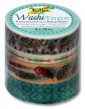Washi Tape Boho, 4-er Set 001