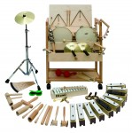 Musikwagen 1 groß, Percussion, 51-teilig